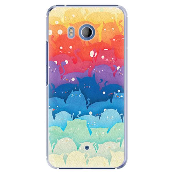 Plastové pouzdro iSaprio - Cats World - HTC U11