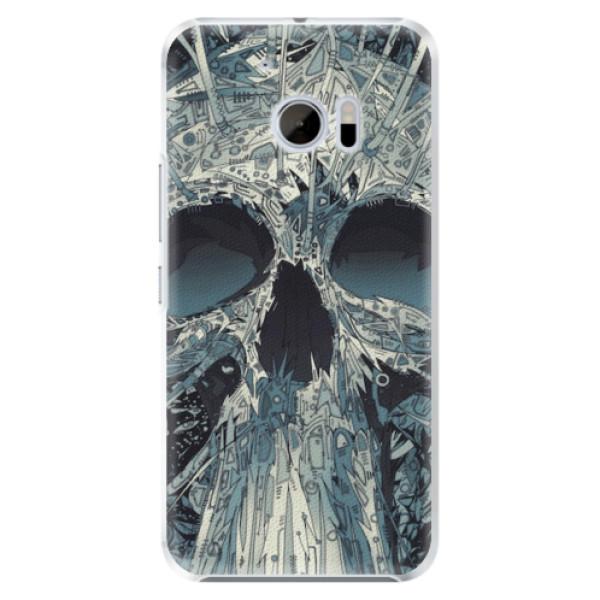 Plastové pouzdro iSaprio - Abstract Skull - HTC 10
