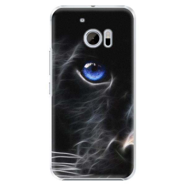 Plastové pouzdro iSaprio - Black Puma - HTC 10