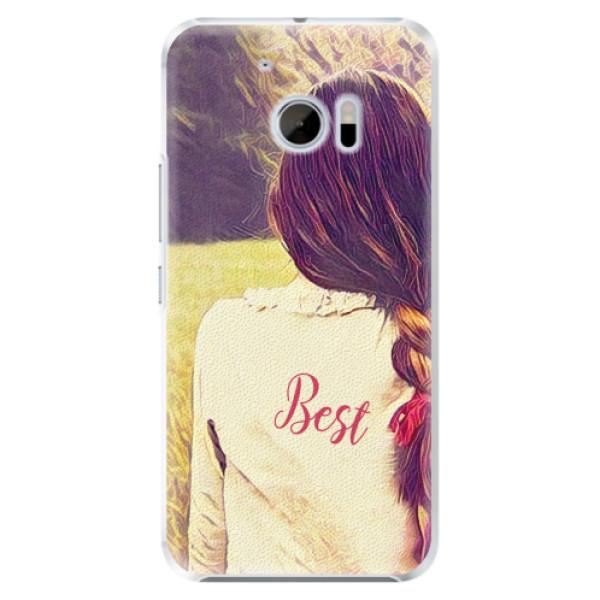 Plastové pouzdro iSaprio - BF Best - HTC 10