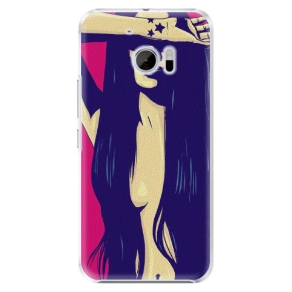 Plastové pouzdro iSaprio - Cartoon Girl - HTC 10