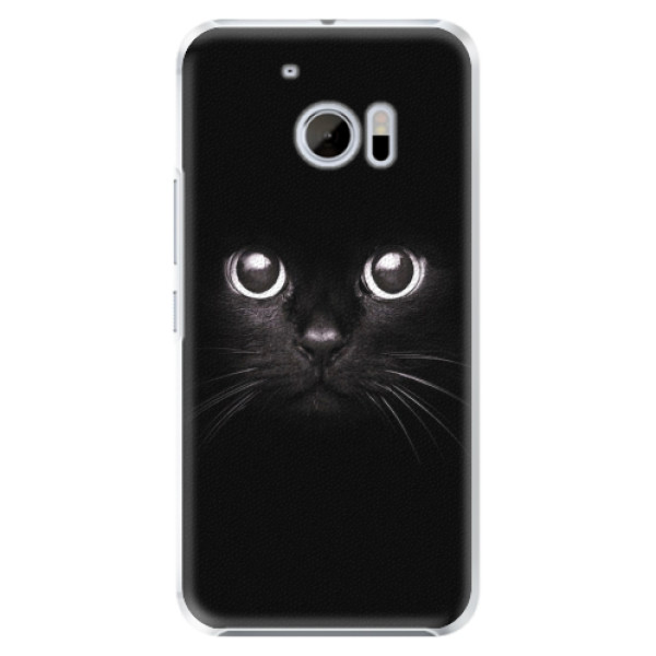Plastové pouzdro iSaprio - Black Cat - HTC 10