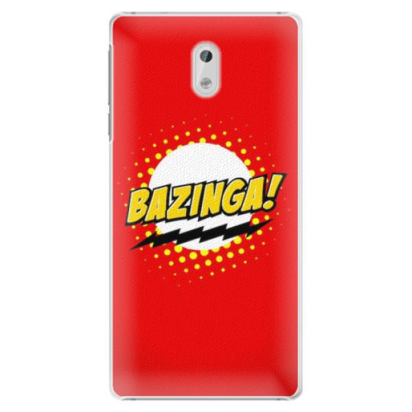 Plastové pouzdro iSaprio - Bazinga 01 - Nokia 3