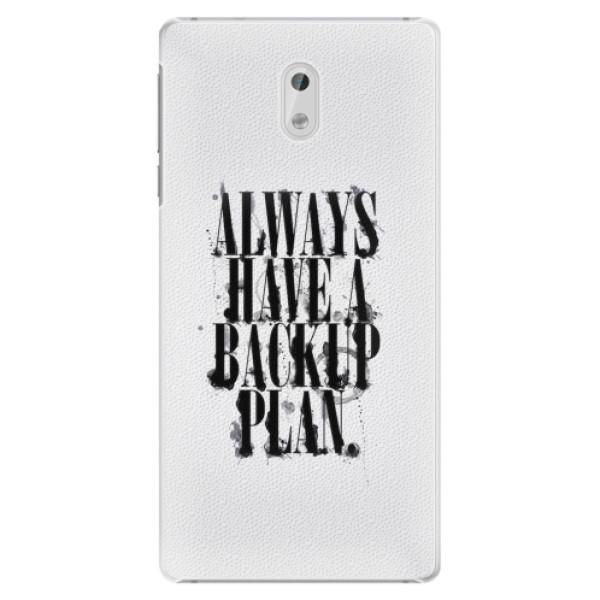 Plastové pouzdro iSaprio - Backup Plan - Nokia 3