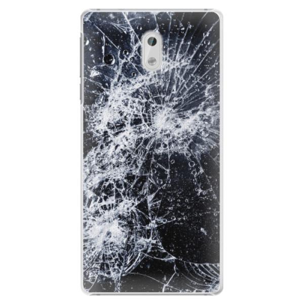 Plastové pouzdro iSaprio - Cracked - Nokia 3