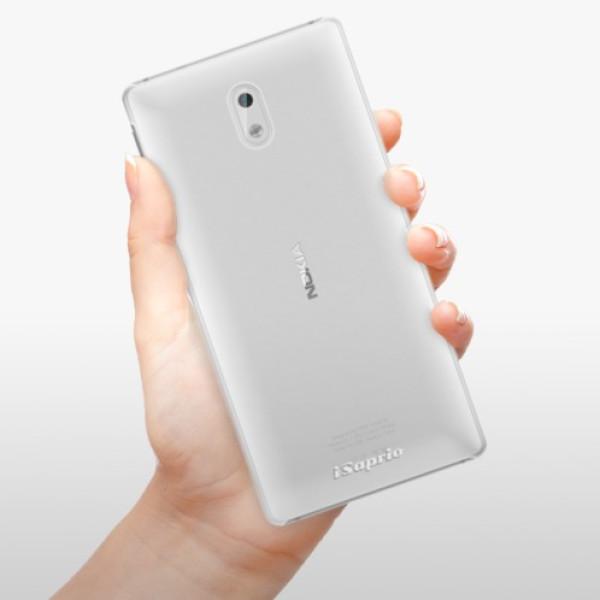 Plastové pouzdro iSaprio - 4Pure - mléčný bez potisku - Nokia 3