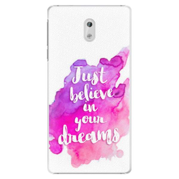 Plastové pouzdro iSaprio - Believe - Nokia 3