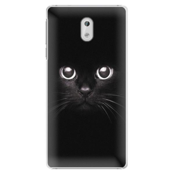 Plastové pouzdro iSaprio - Black Cat - Nokia 3