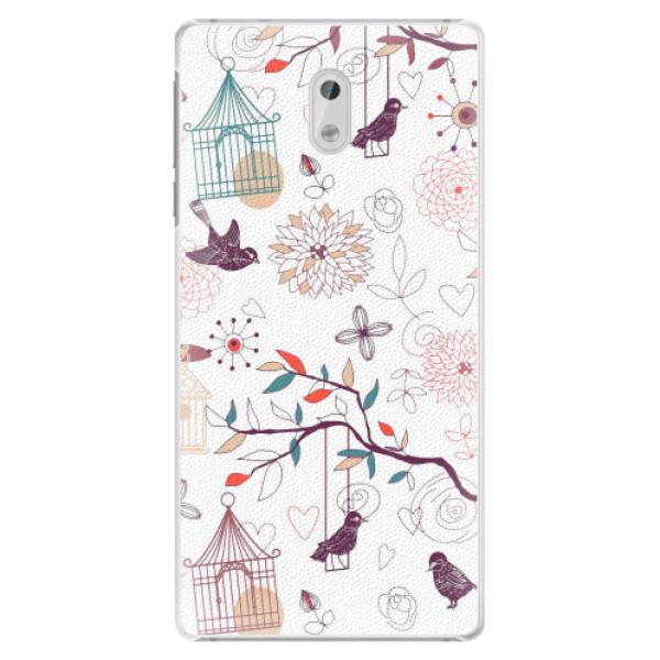 Plastové pouzdro iSaprio - Birds - Nokia 3