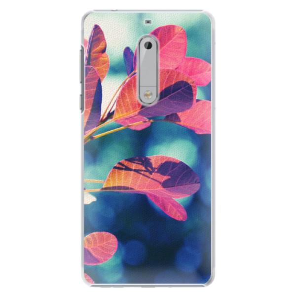 Plastové pouzdro iSaprio - Autumn 01 - Nokia 5