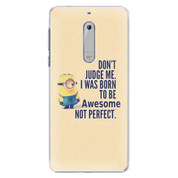 Plastové pouzdro iSaprio - Be Awesome - Nokia 5