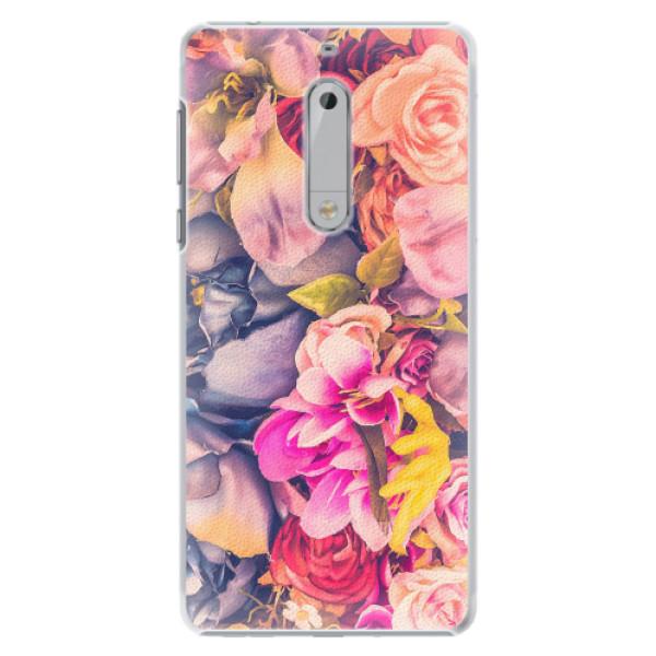 Plastové pouzdro iSaprio - Beauty Flowers - Nokia 5