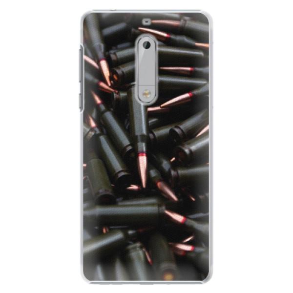 Plastové pouzdro iSaprio - Black Bullet - Nokia 5