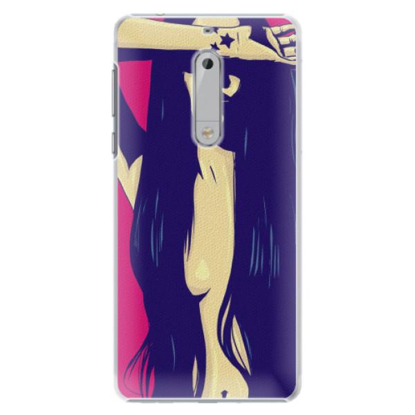 Plastové pouzdro iSaprio - Cartoon Girl - Nokia 5