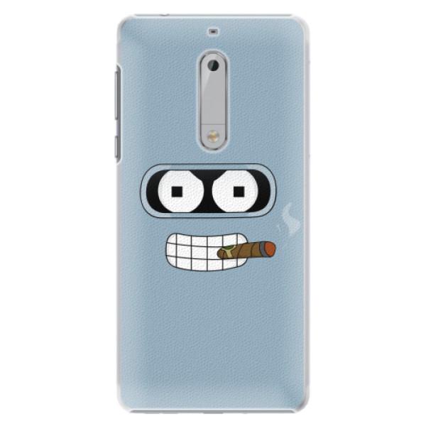 Plastové pouzdro iSaprio - Bender - Nokia 5