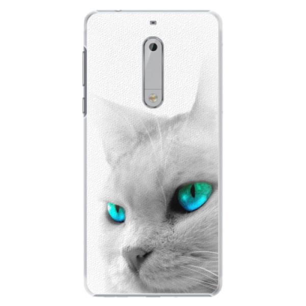 Plastové pouzdro iSaprio - Cats Eyes - Nokia 5
