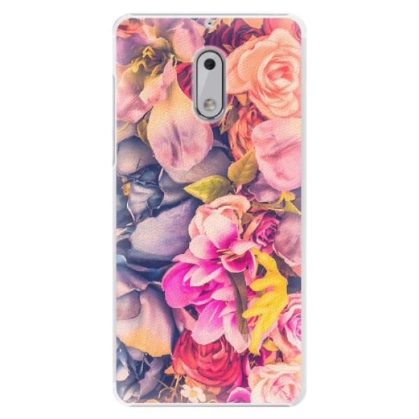 Plastové pouzdro iSaprio - Beauty Flowers - Nokia 6