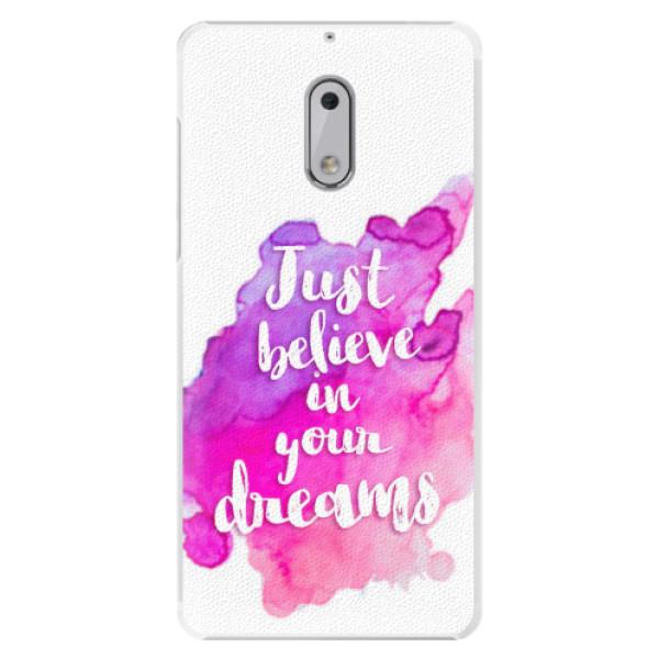Plastové pouzdro iSaprio - Believe - Nokia 6