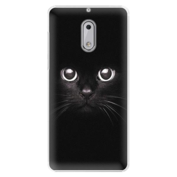 Plastové pouzdro iSaprio - Black Cat - Nokia 6
