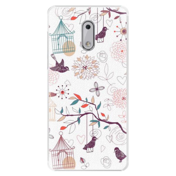 Plastové pouzdro iSaprio - Birds - Nokia 6