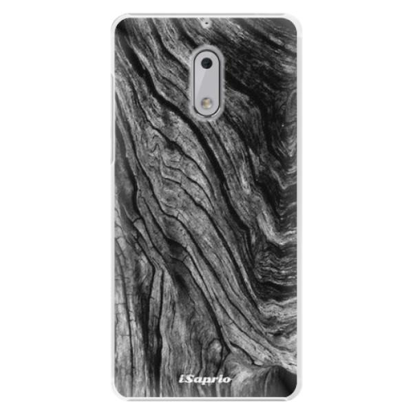 Plastové pouzdro iSaprio - Burned Wood - Nokia 6