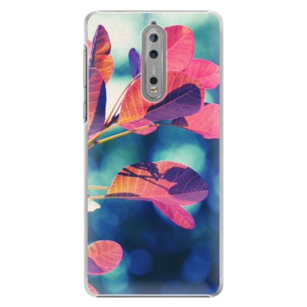 Plastové pouzdro iSaprio - Autumn 01 - Nokia 8