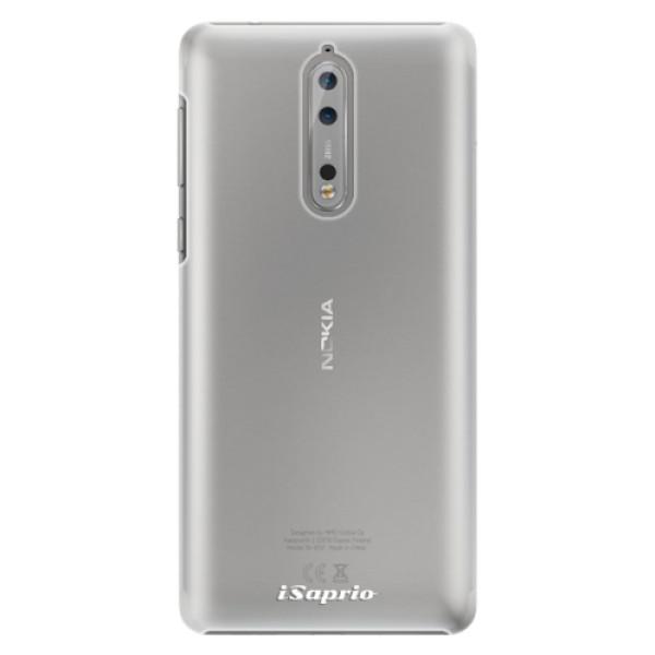 Plastové pouzdro iSaprio - 4Pure - mléčný bez potisku - Nokia 8