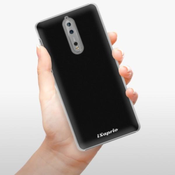 Plastové pouzdro iSaprio - 4Pure - černý - Nokia 8