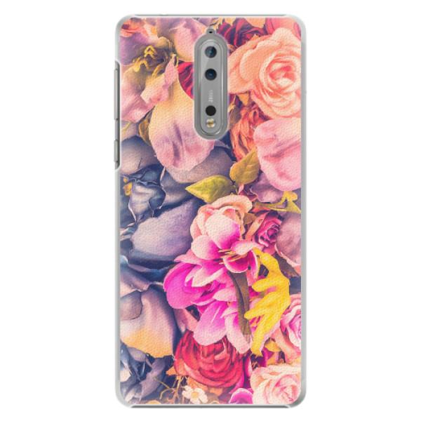 Plastové pouzdro iSaprio - Beauty Flowers - Nokia 8