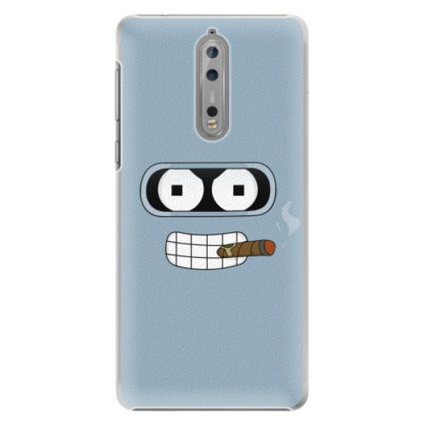 Plastové pouzdro iSaprio - Bender - Nokia 8