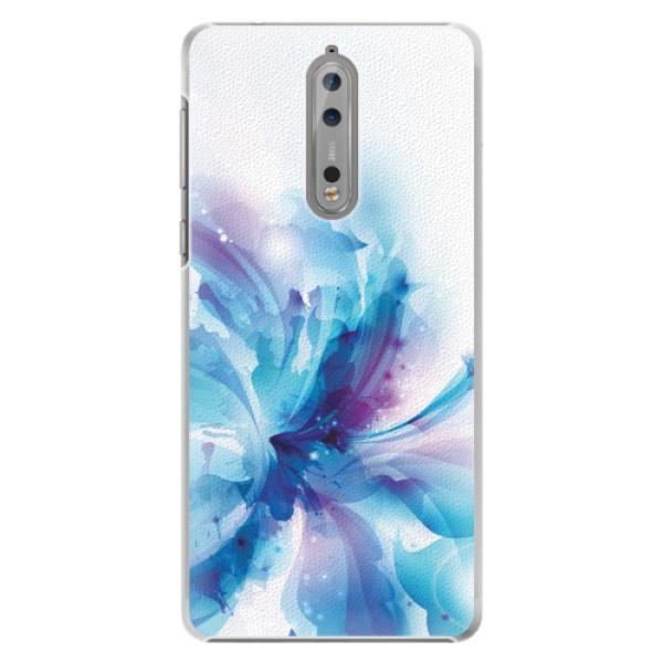 Plastové pouzdro iSaprio - Abstract Flower - Nokia 8