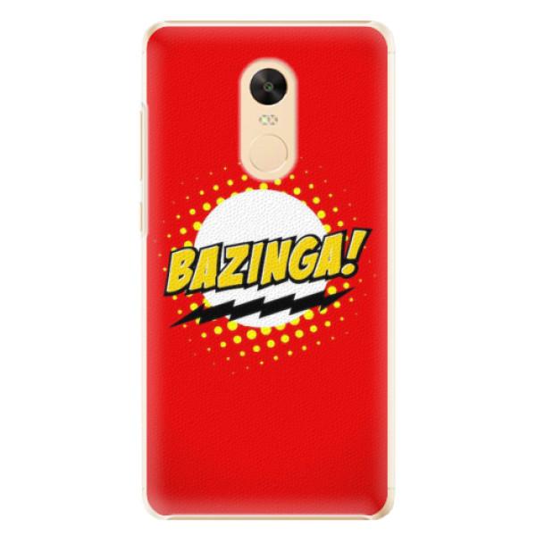 Plastové pouzdro iSaprio - Bazinga 01 - Xiaomi Redmi Note 4X