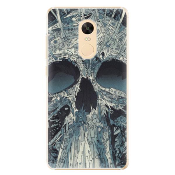 Plastové pouzdro iSaprio - Abstract Skull - Xiaomi Redmi Note 4X