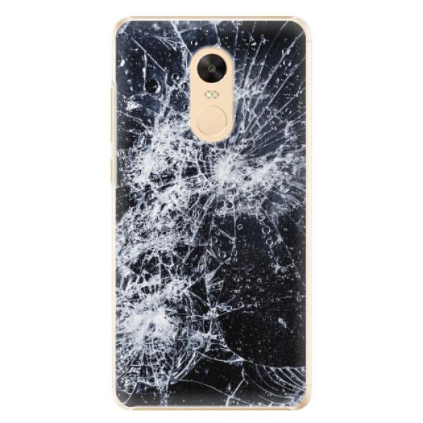 Plastové pouzdro iSaprio - Cracked - Xiaomi Redmi Note 4X