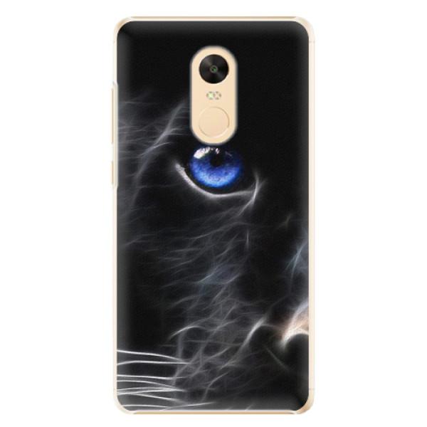 Plastové pouzdro iSaprio - Black Puma - Xiaomi Redmi Note 4X