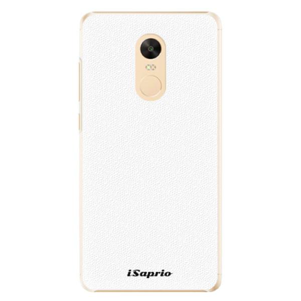 Plastové pouzdro iSaprio - 4Pure - bílý - Xiaomi Redmi Note 4X