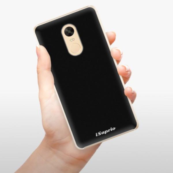 Plastové pouzdro iSaprio - 4Pure - černý - Xiaomi Redmi Note 4X
