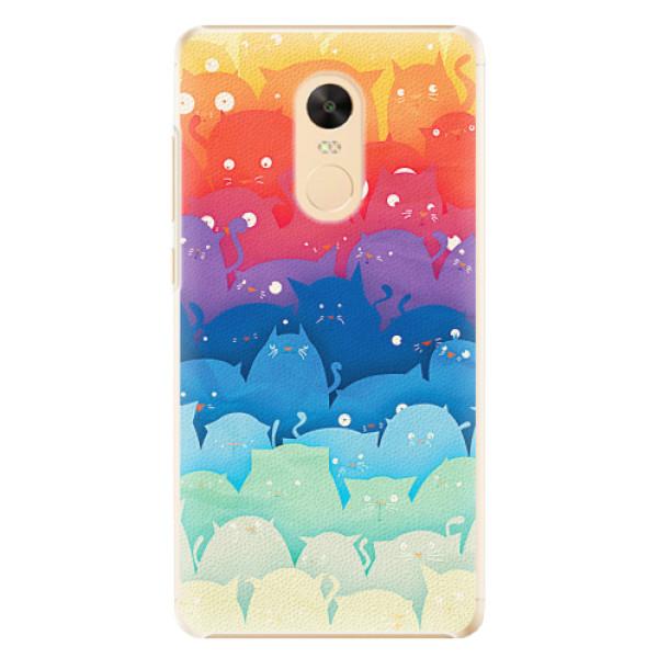 Plastové pouzdro iSaprio - Cats World - Xiaomi Redmi Note 4X