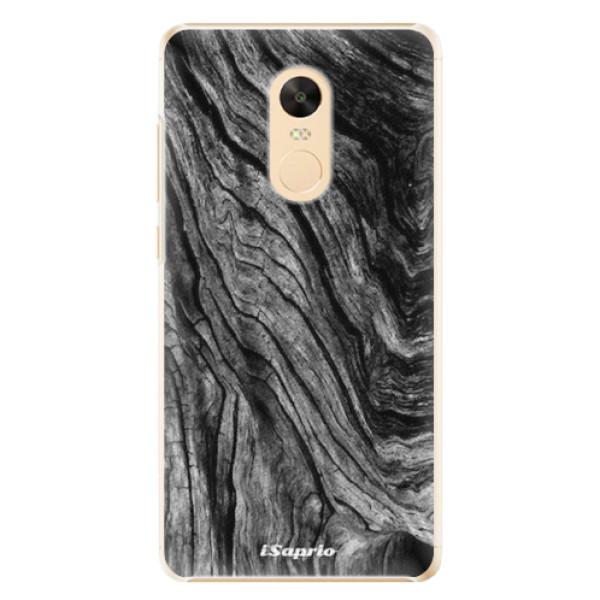 Plastové pouzdro iSaprio - Burned Wood - Xiaomi Redmi Note 4X