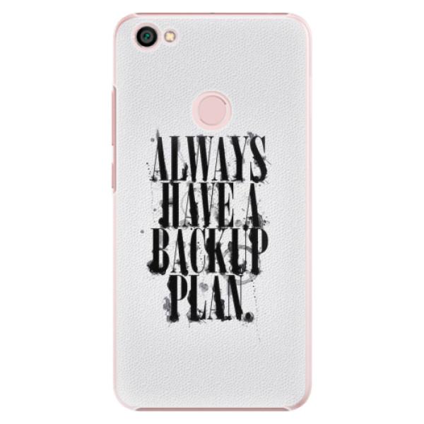 Plastové pouzdro iSaprio - Backup Plan - Xiaomi Redmi Note 5A / 5A Prime
