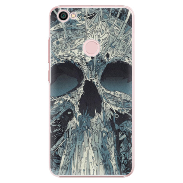 Plastové pouzdro iSaprio - Abstract Skull - Xiaomi Redmi Note 5A / 5A Prime