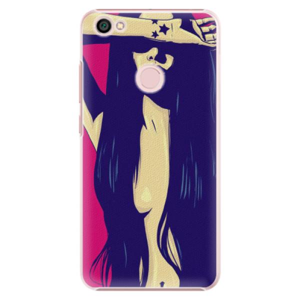 Plastové pouzdro iSaprio - Cartoon Girl - Xiaomi Redmi Note 5A / 5A Prime