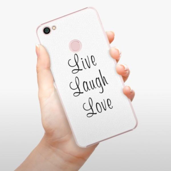 Plastové pouzdro iSaprio - Live Laugh Love - Xiaomi Redmi Note 5A / 5A Prime