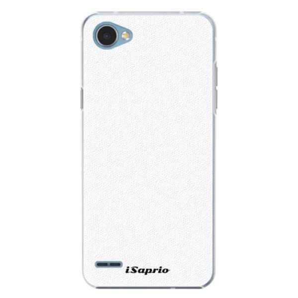Plastové pouzdro iSaprio - 4Pure - bílý - LG Q6