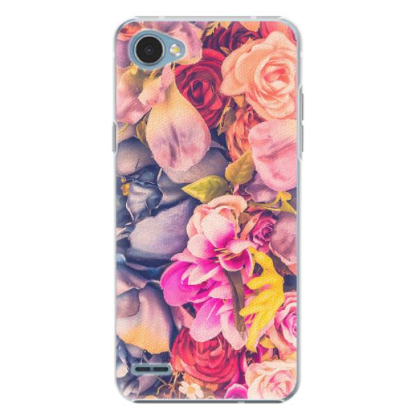 Plastové pouzdro iSaprio - Beauty Flowers - LG Q6