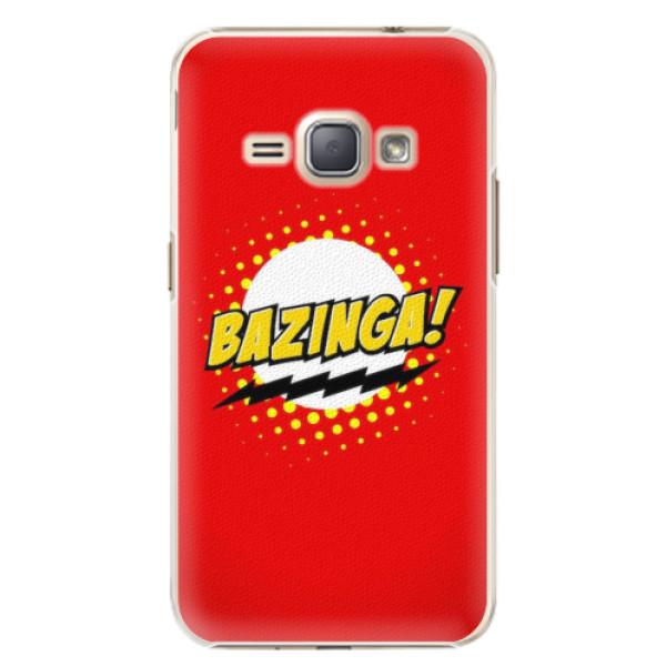 Plastové pouzdro iSaprio - Bazinga 01 - Samsung Galaxy J1 2016