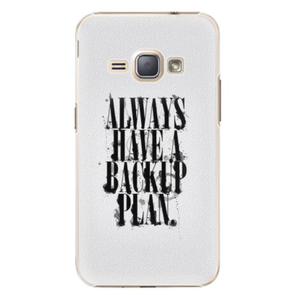 Plastové pouzdro iSaprio - Backup Plan - Samsung Galaxy J1 2016