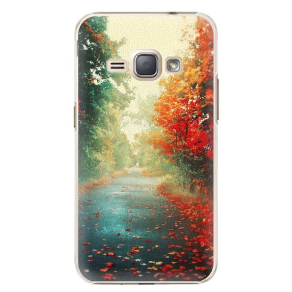 Plastové pouzdro iSaprio - Autumn 03 - Samsung Galaxy J1 2016