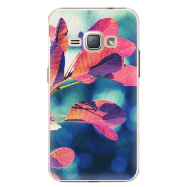 Plastové pouzdro iSaprio - Autumn 01 - Samsung Galaxy J1 2016