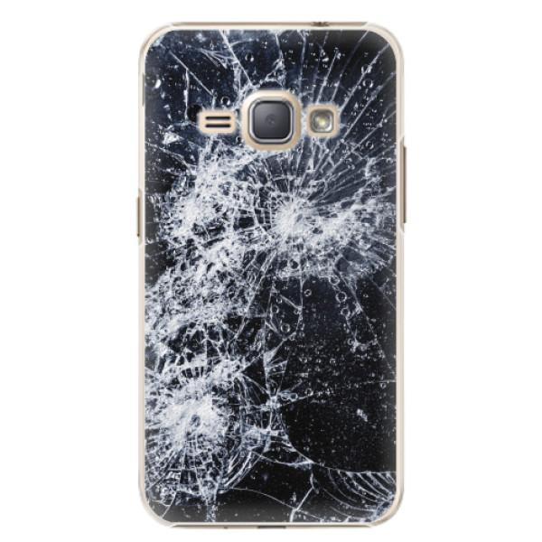 Plastové pouzdro iSaprio - Cracked - Samsung Galaxy J1 2016